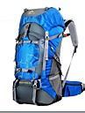 60 L Backpacker-ryggsäckar / Travel Duffel Camping / Klättring / Jakt / Resa Utomhus / Leisure SportsVattentät / Regnsäker /