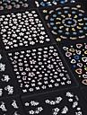 Blomma / Vackert - Finger - 3D Nagelstickers / Nagelsmycken - av PVC - 30pcs - styck 65mm*55mm - cm