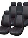 9 stycken / set bilbarnstol täcker universell passform material jacquard material med 3mm komposit svamp auto tillbehör