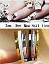 Punk - Finger - Nagelsmycken - av PVC - 5pcs - styck 2mm 、3mm - cm