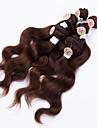 Tissages de cheveux humains Cheveux Brésiliens Ondulation naturelle 12 mois tissages de cheveux