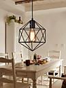 Hängande lampor ,  Modern Traditionell/Klassisk Rustik/Stuga Rektangulär Särdrag for Flush Mount Lights MetallVardagsrum Sovrum Dining