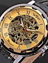 WINNER® Men's Watch Mechanical Hollow Engraving Cool Watch Unique Watch Skeleton Watch