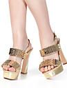 aokang® kvinnors läder sandaler - 342818037