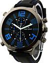 V6 Bărbați Ceas Militar Ceas de Mână Quartz Quartz Japonez Silicon Bandă Negru Alb Portocaliu Galben Albastru