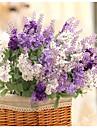 Une succursale Soie Plastique Lavande Fleur de Table Fleurs artificielles 36*15*6cm