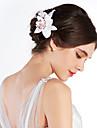 Femei Material Textil Diadema-Nuntă Ocazie specială Exterior Flori