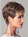 europeiska dam kvinnor korta syntheic våg peruker förlängningar vacker peruk