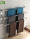 weiyuwuxian® 304 rostfritt stål 23,6 tum polerad tre handduk barer handdukshängare