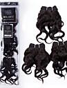 Tissages de cheveux humains Cheveux Péruviens Ondulation naturelle 12 mois 3 Pièces tissages de cheveux