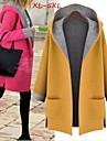 Manteaux & Vestes ( Polyester ) Informel Col taillé à Manches longues pour Femme