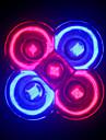 morsen® spectre complet des lampes de 10w conduit e27 / GU10 3RED + 2blue conduit croissant ampoule pour système de culture hydroponique de
