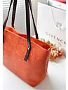 Dam PU Ledig Stor väska Rosa / Lila / Blå / Orange