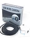 7m USB étanche 2,0 cmos serpent lentille 7mm 6-conduit caméra HD endoscope