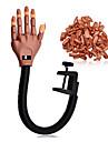 doigts outils clou de formateur professionnel Super Flexible avec bouts d'ongle personnelles ; salon de la formation pratique réglable