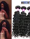 """3 pièces / lot 8 """"-30"""" 7a extensions brésiliennes de cheveux de vague profonde vierges cheveux 100% vierge non traitée tisse"""