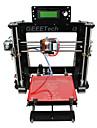 geeetech 8mm akryl RepRap Prusa mendel i3 3d-skrivare diy kit 1,75 mm glöd / 0.3mm munstycke