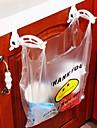 armoires de rangement des sacs à ordures en plastique de crochet