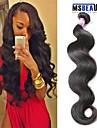 """1 st / lot 12 """"-30"""" 7a peruanska jungfru hår förkroppsligar vinkar människohår väft 100% obearbetat peruanska remy hår väver"""