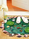 Vacances Stickers muraux Autocollants muraux 3D Autocollants muraux décoratifs Matériel Amovible Décoration d'intérieur Calque Mural