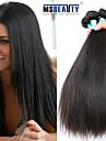 """3st mycket 8-30 """"obearbetade råvaror indiska raka hårförlängningar jungfru människohår väver"""