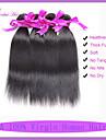 peruanska jungfru hår rakt människohår väva naturligt svart 3st hel peruanska rakt hår buntar