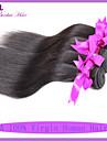billiga peruanska jungfru hår rakt människohår 4st per buntar 100g per st / 3,5 oz hårförlängningar