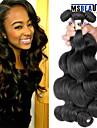 """4 st / lot 8 """"-30"""" 6a peruanska jungfru hår förkroppsligar vinkar människohår väft 100% obearbetat peruanska remy hår väver"""