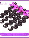 obearbetade 7a peruanska jungfru hår förkroppsligar vinkar peruansk vågigt sälja peruanska hårförlängning 3st mycket