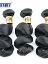 """3 st / lot 8 """"-28"""" 6a malaysiska jungfru lösa våg hårförlängningar 100% obearbetat jungfru människohår väver"""
