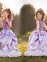 Costume Cosplay Prințesă DinBasme Cosplay de Film Mov Rochie Halloween Crăciun An Nou Copil