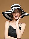 Femei Drăguț/Petrecere/Informal Vara In/Paie Pălărie cu Boruri Moi