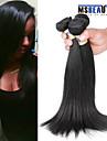 """3 st / lot 8 """"-30"""" 6a indiska raka hårförlängningar obearbetat jungfru människohår väver"""