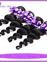 7a malaysiska jungfru hår lösa våg 3st billiga malaysiska lös våg jungfru mänskliga hårförlängningar