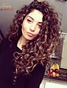 8a brésilien 100% non transformés vierge de cheveux humains dentelle perruque de cheveux frisés crépus