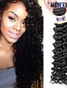 """1 st / lot 12 """"-30"""" 6a malaysiska jungfru hår vinkar djupt mänskligt hårwefts 100% obearbetat malaysiska remy hår väver"""