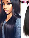 """1 st / lot 12 """"-30"""" 7a brasilianska jungfru hår rakt människohår väft 100% obearbetat brasilianskt remy hår väver"""