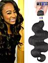 """1 st / lot 12 """"-30"""" 6a peruanska jungfru hår förkroppsligar vinkar människohår väft 100% obearbetat peruanska remy hår väver"""