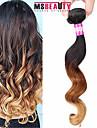 """1 pc / lot 16 """"-24"""" 7a 3tmalaysian cheveux vierges vague lâche extensions de cheveux 100% remy non transformés ombre humaine tisse les"""