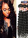 """3 st / lot 8 """"-28"""" 8a peruanska jungfru hår vinkar djupt hårträns 100% obearbetat remy människohår väver"""