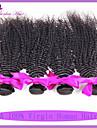 Human Hår vävar Peruanskt hår Sexigt Lockigt 6 månader 3 delar hår väver