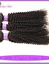 7a brasilianska jungfru hår 3st kinky lockigt jungfru hår trasselfria billiga människohår 12-22 brasilianska hår väva buntar