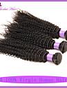 brésilien cheveux crépus bouclés profonde bouclés 3pcs cheveux brésiliens beaucoup brésilienne de cheveux bouclés vierge crépus