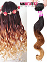 """1 pc / lot 16 """"-24"""" 7a 3t cheveux brésilienne vierge vague lâche cheveu humain trames de 100% les cheveux remy brésiliens tisse non"""