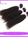 cheveux vierge profondes 3pcs bouclés brésiliens non transformés beaucoup brésilien crépus bouclés armure de cheveux vierge