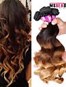 4 st / lot 7a 3t peruanska jungfru hår löst våg människohår väft 100% obearbetat peruanska remy hår väver