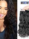 """3 st / lot 12 """"-22"""" 6a malaysiska jungfru naturlig våg hårförlängningar 100% obearbetat jungfru människohår väver"""