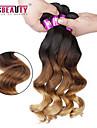 Nyans Peruanskt hår Löst vågigt 4 delar hår väver