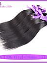 Human Hår vävar Indiskt hår Ret 6 månader 1 st. hår väver