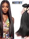"""3 st / lot 8 """"-30"""" 6a brasilianska jungfru raka hårförlängningar 100% obearbetat jungfru människohår väver"""
